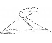 Gambar Mewarnai Gunung