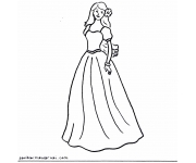 Gambar Mewarnai Barbie