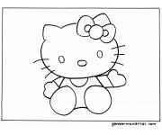 Mewarnai Hello Kitty