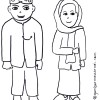 Gambar Mewarnai Pakaian Adat Betawi