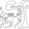 Mewarnai Taman Bunga
