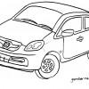 Gambar Honda Brio Satya Untuk Mewarnai