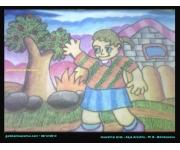 Mewarnai Gambar Anak Karya Asya Azzahra Bondowoso