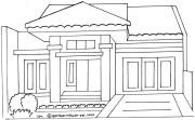 Gambar Rumah Minimalis Untuk Mewarnai