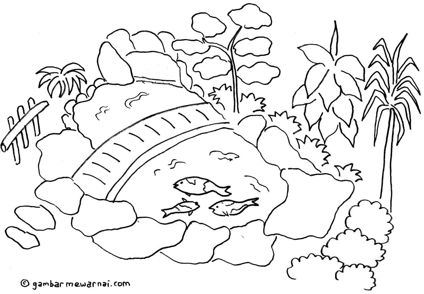 Image Result For Sketsa Taman Minimalis