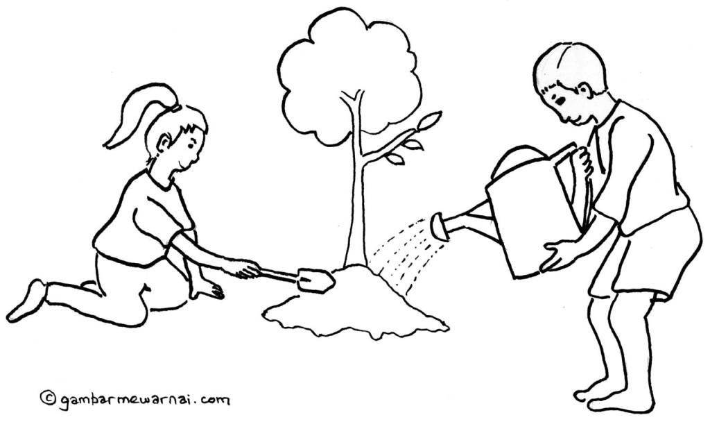 Image Result For Gambar Kartun Lingkungan