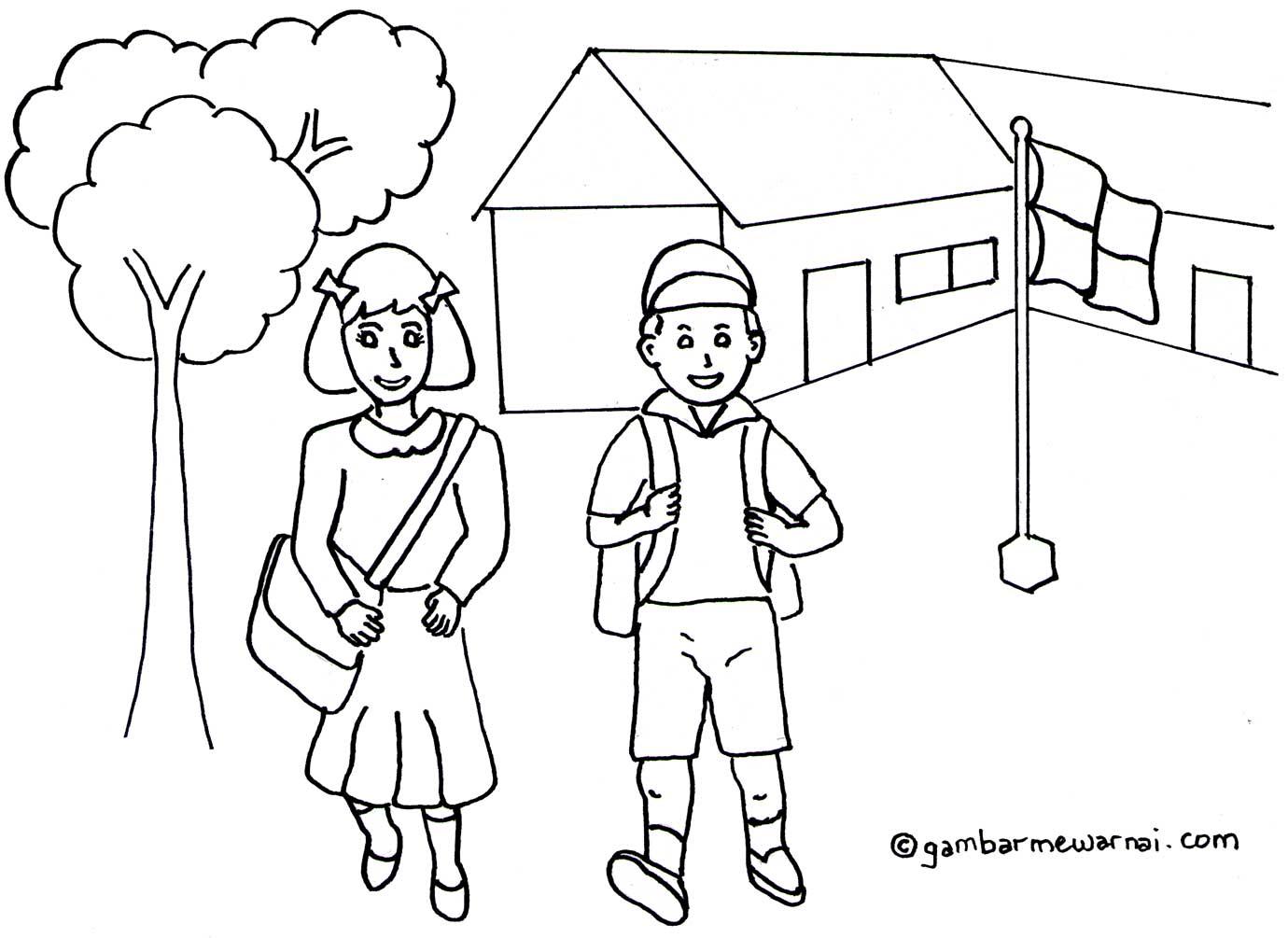 Gambar Pemandangan Untuk Anak Paud Toko Fd Flashdisk Flashdrive