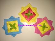 Cara Membuat Mainan Sendiri Origami Gasing