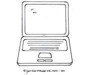 Gambar Mewarnai Laptop