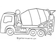 Belajar Mewarnai Gambar Mobil Molen