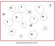 Mengenal Menghitung dan Mewarnai Angka